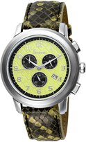 Freelook Women's HA1132CH-6 SS Dial Snake Leather Band Watch