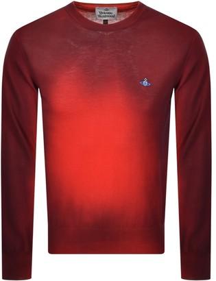 Vivienne Westwood Crew Neck Knit Jumper Red
