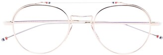 Thom Browne Eyewear Round Optical Glasses