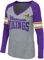 G-iii Sports Women's Minnesota Vikings In the Zone Long Sleeve T-Shirt