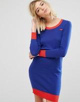 Sonia By Sonia Rykiel Lip Motif Knit Dress