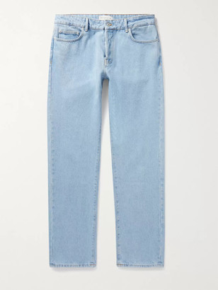 Officine Generale James Denim Jeans - Men - Blue