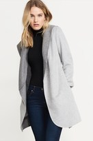 Dynamite Belted Wool Coat With Hood