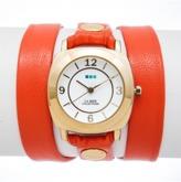 La Mer Orange Gold Odyssey Triple Wrap.