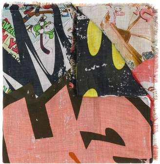 Faliero Sarti all-over print scarf