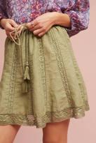 Eze Sur Mer Lace Hem Skirt
