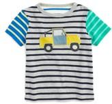 Boy's Mini Boden Hotchpotch Vehicle Applique T-Shirt