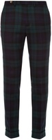 Gucci Checked wool trousers