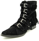Penny Loves Kenny Swish Women Pointed Toe Canvas Mid Calf Boot.