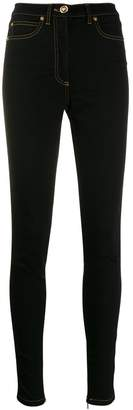 Versace high-rise skinny denim jeans