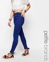 Boohoo Petite Plaited Detail Skinny Jean