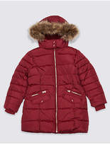 Marks and Spencer Faux Fur Padded Coat (3-16 Years)