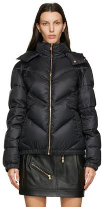 Versace Black Down Puffer Jacket