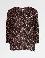 Fat Face Sadie Poppy Meadow Blouse