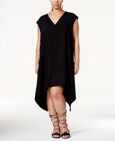 Rachel Roy Curvy Trendy Plus Size Sydney Handkerchief-Hem Dress