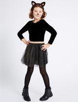 Marks and Spencer Kids' Cat Tutu Fancy Dress Up
