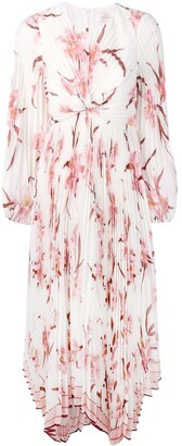 Zimmermann Pleated Twist Front Dress