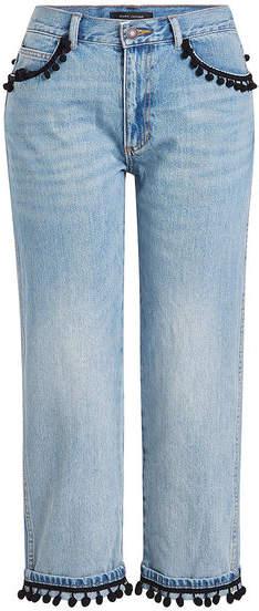 Marc Jacobs Pom Pom Denim Pants