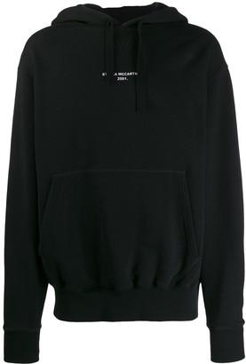 Stella McCartney lettered logo print hoodie