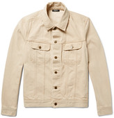 A.P.C. Benjamin Denim Jacket - Beige