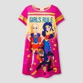 DC Super Hero Girls Girls' Warner Bros® DC Super Hero Girls Nightgown - Pink