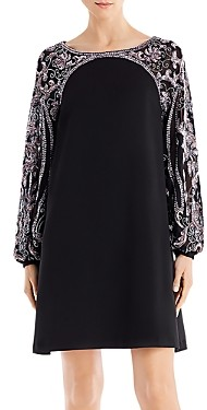 Aidan Mattox Embellished Mini Shift Dress - 100% Exclusive