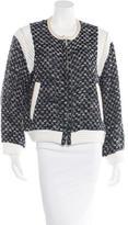 IRO Alisa Leather-Trimmed Jacket