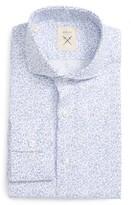 Men's Strong Suit Trim Fit Floral Dress Shirt