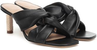 Jacquemus Les Mules Bellagio leather sandals
