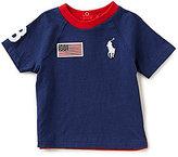 Ralph Lauren Baby Boys 3-24 Months Americana Color Block Short-Sleeve Tee