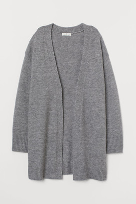 H&M Long Cardigan - Gray