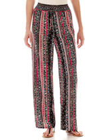 JCPenney JOE B BY JOE BENBASSET Joe Benbasset Wide-Leg Print Palazzo Pants
