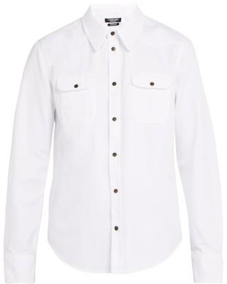 Calvin Klein Western Cotton Shirt - White