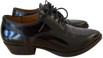 Valentino Black Patent leather Lace ups