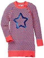 Petit Lem Knit Dress (Toddler & Little Girls)