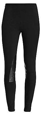 Polo Ralph Lauren Women's Leather-Patch Jodhpur Leggings