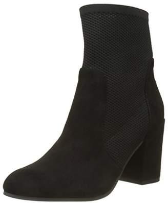 Buffalo London Women's 417-0371 Suede Boots, Black 01