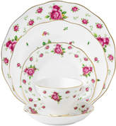 Royal Albert Dinnerware, Old Country Roses White Vintage 5 Piece Place Setting