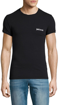 Just Cavalli Crewneck Solid T-Shirt