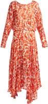 Preen by Thornton Bregazzi Norma floral-devoré dress