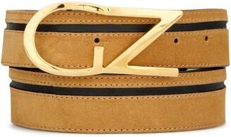 Giuseppe Zanotti Front Logo Plaque Belt