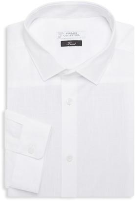 Versace Long-Sleeve Trend-Fit Dress Shirt