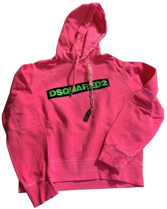 DSQUARED2 Pink Cotton Knitwear for Women