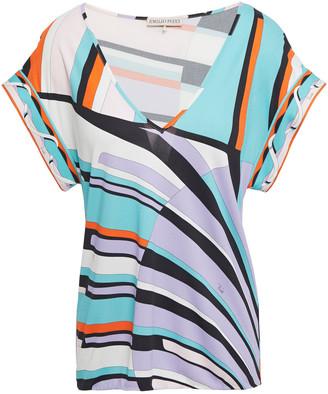 Emilio Pucci Printed Jersey T-shirt