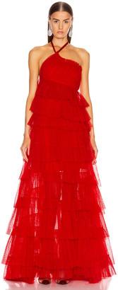 Alexis Justinia Dress in Cherry | FWRD