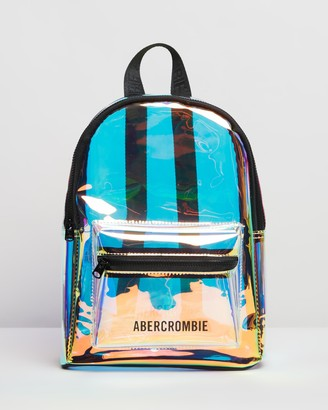 Abercrombie & Fitch Mini Transparent Backpack