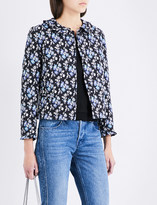 Claudie Pierlot Vita cotton-blend jacket