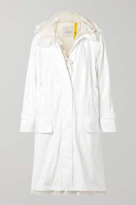 Simone Rocha Moncler Genius - 4 Ruffled Shell-trimmed Vinyl Coat - White