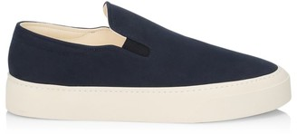 The Row Mary Canvas Slip-On Sneakers