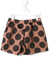 No21 Kids polka dot skirt
